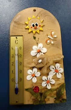 Thermometer, Wall Plaques, Projects To Try, Pasta, Addiction, Gardening, Heart, Clay, Pottery Studio