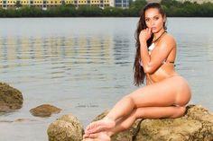 Happy Fridayyyy !!! P | James Cessna MO | Tahiticora   #happyfriday  #bikinimodel The International Bikini Model Search  #girlinbikinis    Source