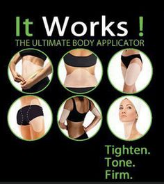 WIN 4 It Works! Body Wraps!!! Lose those stubborn belly inches fast! I'd sold!
