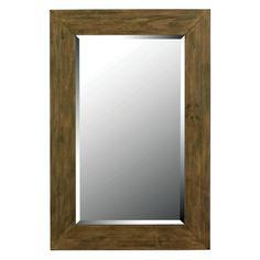 Eureka Rustic Large Wall Mirror - 28W x 42H in. - 60202