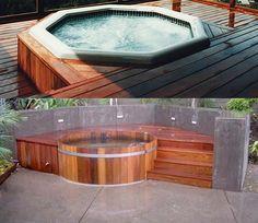 Decking Similar Around My Tuff Spa (plastic Looking) Hot Tub