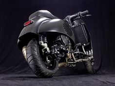 VESPA PS 240 SCOOTER & SERVICE Vespa Tuning project in their own right: By far the most expensive Vespa conversion from our Hambur...