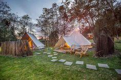 Los hospedajes mas originales en Colombia – Las Rutas de Isa Bungalows, Cabana, Glamping, Travel Inspiration, Patio, World, Places, Outdoor Decor, Change