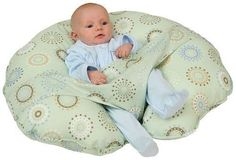 Leachco Cuddle-U Nursing Pillow Sleep Boppy Sit Baby Infant Feeding Tummy Natal #Leachco