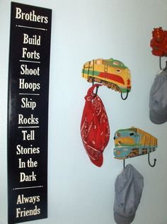 Love this for my boys playroom!