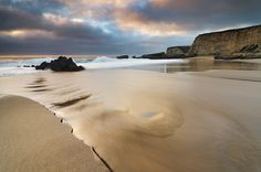 River of Gold - Panther Beach, Santa Cruz (Explored #3 - Thanks!) | by Joshua Cripps
