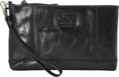Mancini Leather Goods Ladies' RFID Wristlet Black - via eBags.com!