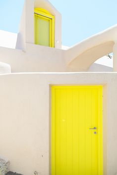 Santorini, Greece | color | neon