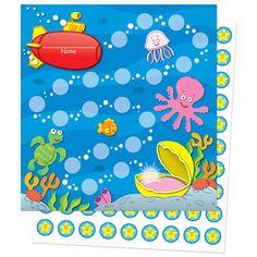 Sea life mini incentive charts, Sold as 1 Package Reward Sticker Chart, Reward Chart Kids, Kids Rewards, Incentive Charts, Goal Charts, Rewards Chart, Kindergarten Drawing, Carson Dellosa, Toilet Training