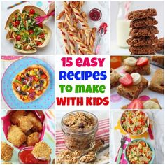 Cooking with kids is a great activity! It gets kids interested in food, helps develop fine motor skills, provides an opportunity and helps to build confidence. In our collection, we've included baking recipes, but we've also listed some family main meals and savoury snacks to make too! #cookingwithkids #homelearning #recipesforkidstomake Pasta Salad For Kids, Salads For Kids, Vegetarian Meals For Kids, Best Vegetarian Recipes, Carrot Recipe For Kids, Carrot Recipes, Easy Baking Recipes, Snack Recipes, Cooking Recipes