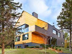 Malbaie VIII Residence by MU Architecture / Intelligent architecture / INTZINE