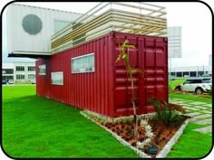Shipping Container House/Home (Exterior)…