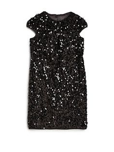 MILLY MINIS - Girl's Stretch Sequined Dress