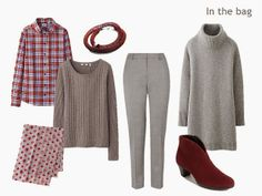 How to Pack for a Long Weekend: A Cranberry and Grey travel capsule wardrobe
