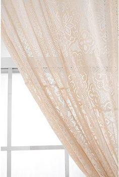 UrbanOutfitters.com > Lace Patchwork Curtain