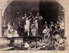 café cantante Sevilla 1896