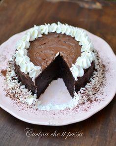 Torta allo yogurt e cacao