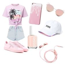"""""""Summer💓"""" by prettylittleliz on Polyvore featuring Topshop, Miss Selfridge, Tod's and Stephane + Christian"""