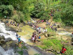 Wisata Air Terjun 7 Tingkat Curug Nangga  salah satu curug yang terletak di Desa Petahunan, Pekuncen, Banyumas, Jawa Tengah ini sangat menarik dan terlihat keindahan dari kejauhan serta  kesegaran udara alam yang begitu menggetarkan badan.