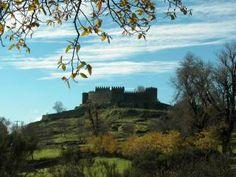 Castelo de Trancoso Portugal, Monument Valley, Nature, Travel, Painting, Art, Castle, Centre, Art Background