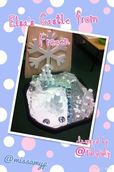 Frozen Small World Frozen Activities, Eyfs Activities, Winter Activities, Elsa Castle, Tuff Spot, Funky Fingers, Frozen Water, Polar Animals, Frozen Theme