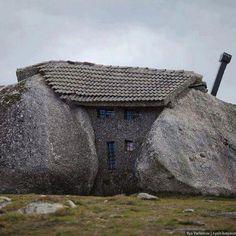 Stone house, Portugal (built 1973)
