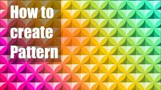 How to create pattern in Inkscape Inkscape Tutorials, Graphic Design Studios, Coreldraw, Make It Yourself, Learning, Create, Illustration, Pattern, Studying
