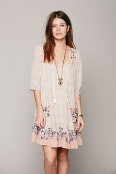 Free people dress- boho chic nicely done