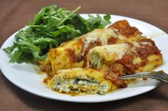 Ciao Chow Linda: Quick and Easy Manicotti/Cannelloni