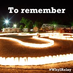 Repin if you Relay to remember. #WhyIRelay