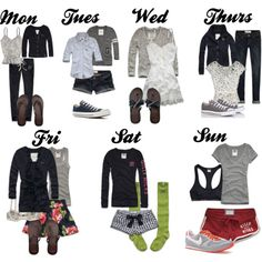 Gilly hicks outfits of the week