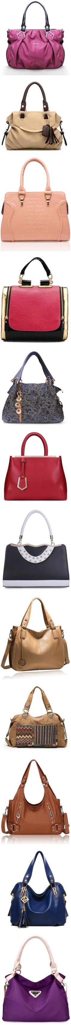 Handbags by loluxe featuring women's fashion purses, totes, clutches and accessories