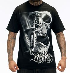 Stop in to the store or check out this AWESOME Sullen Nikko Tee on our website! http://iconicthreadsco.com/index.php/15-off-tees/men/sullen-nikko-tee.html  use promocode rockstarstyle15 at checkout !
