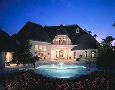 French Chateau to Call Your Own - 63132HD | European, French Country, Luxury, Photo Gallery, Premium Collection, 1st Floor Master Suite, Butler Walk-in Pantry, CAD Available, Courtyard, Den-Office-Library-Study, In-Law Suite, MBR Sitting Area, Media-Game-Home Theater, Multi Stairs to 2nd Floor, PDF | Architectural Designs