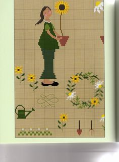 Acufactum books lots and lots of X stitch                                           Gallery.ru / Фото #26 - Christiane Dahlbeck - Stiel & Bl - anfisa1