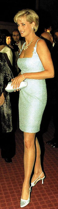 June 3, 1997: Diana, Princess of Wales at the English National Ballet production of Swan Lake at the Royal Albert Hall.