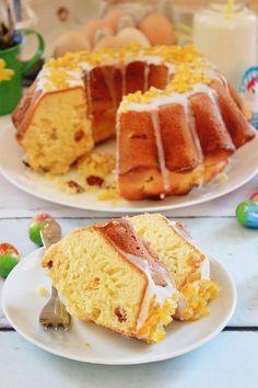 Polish Desserts, Polish Recipes, Polish Food, Easter Recipes, Dessert Recipes, Babka Recipe, Apple Pie Bars, Pumpkin Spice Latte, Something Sweet