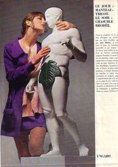 Jane Birkin vogue 1970