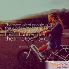Have you got time to enjoy your health?