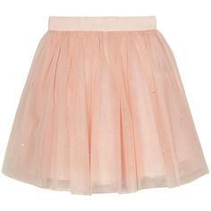 Baker By Ted Baker Girls Diamante Tulle Skirt ($37) ❤ liked on Polyvore featuring skirts, ted baker, tulle skirt, knee length tulle skirt, ted baker skirt and red skirt