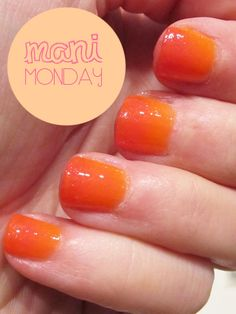 Ombre' Manicure - must try!