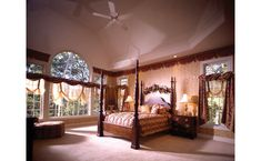 European House Plan Master Bedroom Plan 051S-0018 | House Plans and More