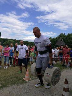 Maroš Štefaňák, víťaz V. kola Slovenského pohára silných mužov na Duchonke.