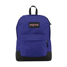 JanSport SuperBreak Backpack ($30) ❤ liked on Polyvore featuring bags, backpacks, purple, school & day hiking backpacks, purple backpack, padded backpack, knapsack bags, pocket bag and jansport backpack