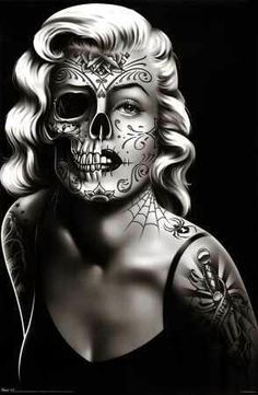 Do you find the half marilyn monroe and skull image disrespectful? Comment your opinion please!!!