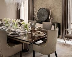 10 Sophisticated Dining Room Ideas By Katharine Pooley   Dining Room Design. Dining Room Decor. #diningroomideas #interiordesign #diningroom Read more: http://diningroomideas.eu/sophisticated-dining-room-ideas-katharine-pooley/