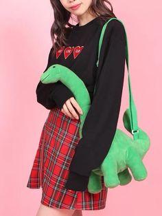 Harajuku Fashion, Kawaii Fashion, Estilo Harajuku, Cool Outfits, Fashion Outfits, Cute Bags, Look Cool, Things To Buy, Aesthetic Clothes