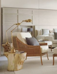 1 sobe miami high rise homes design by Debora Aguiar natural refined neutral book reading nook