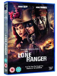 The Lone Ranger [DVD]: Amazon.co.uk: Johnny Depp, Armie Hammer, William Fichtner, Tom Wilkinson, Ruth Wilson, Helena Bonham Carter, Gore Ver...