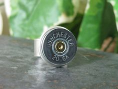 Shotgun Casing Jewelry  Repurposed Winchester 20 by thekeyofa, $25.00